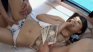 マジックミラー便 王道!19歳のビキニ娘にオイルマッサージ♡水着の中まで手を入れられてハメ撮り本番しちゃいました!