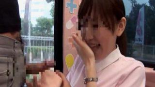 マジックミラー便・憧れのナースにピンク衣のまま生ハメSEX!優しくおち●ぽ包んでください!