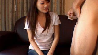 センズリ鑑賞 スレンダーな茶髪のお姉さんギャル!大きくなったチ○ポを深くまで咥え込んじゃう!!